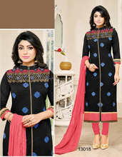 Readymade Embroidery Designer Suits/ladies winter suits salwar kameez/salwar suits