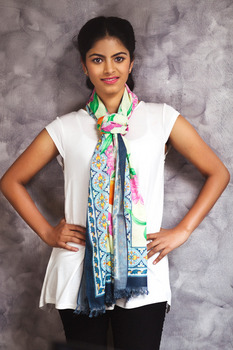 Designer Silk Scarve for Women