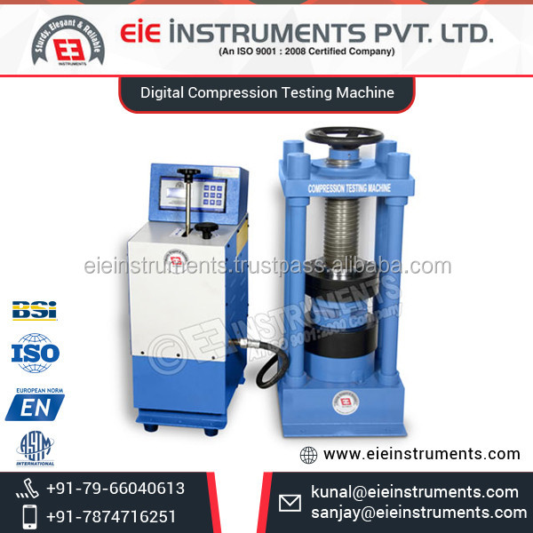 Optimum Strength Easy to Use Digital Compression Testing Machine