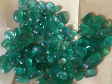 Natural emerald lot from Afghanistan, panjshir mines 1 - 3 ct