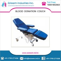 220 - 240 V Blood Donation Couch with Arm Resting Arrangement