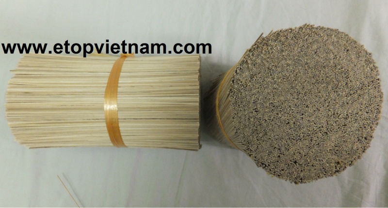 Vietnamese natural bamboo sticks for making incense stick (Whatsapp +84-973403073)