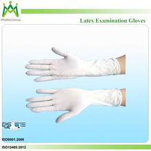 Powder-free Latex Examination Gloves in Assorted Sizes for Selection