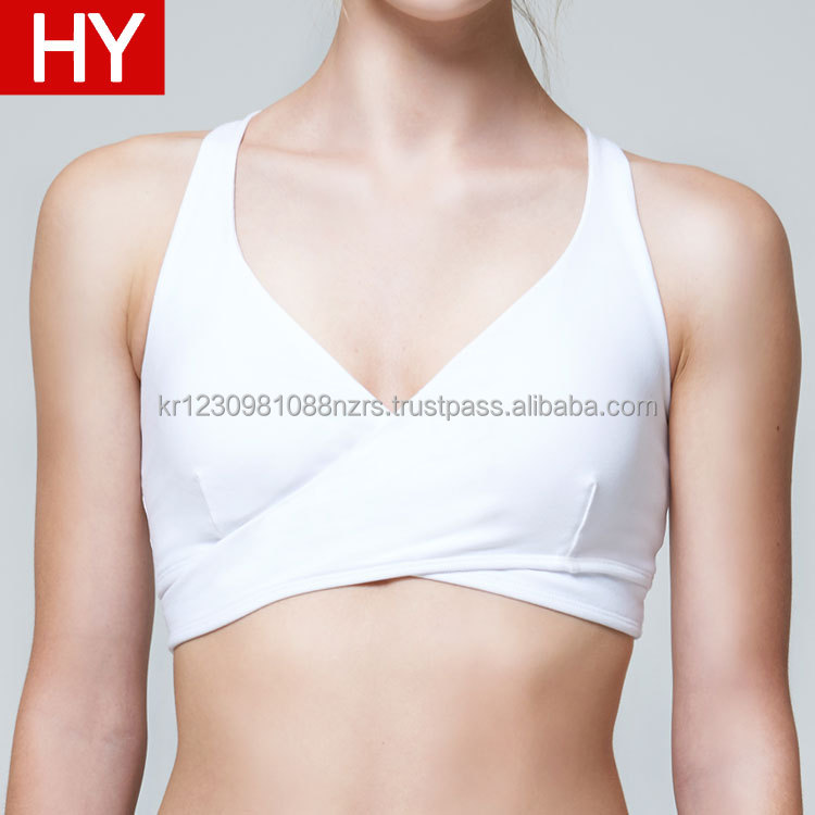 2017 Fashionable Custom Sportswear Sexy Women Wholesale Sublimation Yoga sports Bra