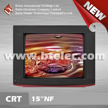 15 inch CRT TV cheap small COLOR TV