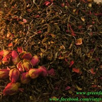 Vietnamese Shan Green Tea With Rose