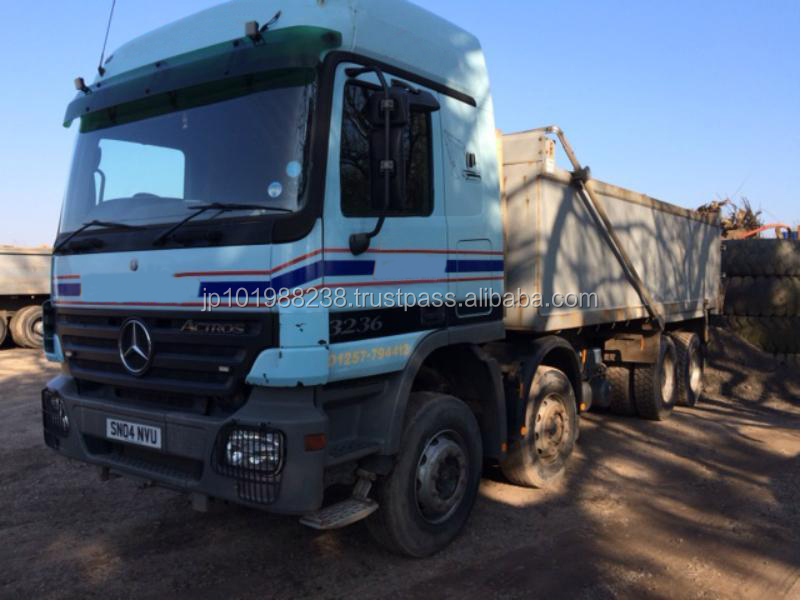 USED TRUCKS - 2004 ACTROS 3236 TIPPER TRUCK (RHD 1801260)