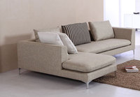 L-Shaped Corner Sofa for Living Room Bedroom Furniture