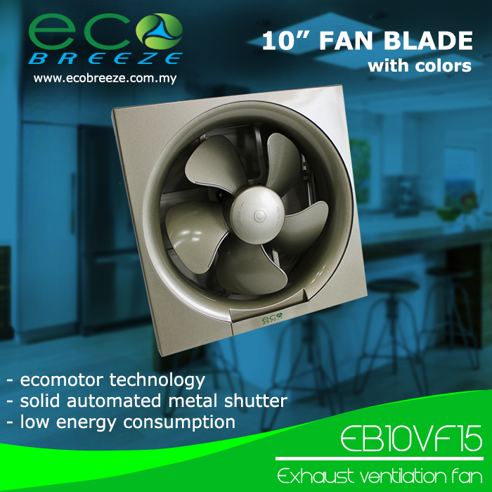 Exhaust Ventilation Fan EB-10VF15 Made in Malaysia