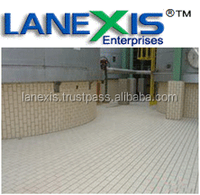 Anti acid ceramic floor tile , chemical resistant tile