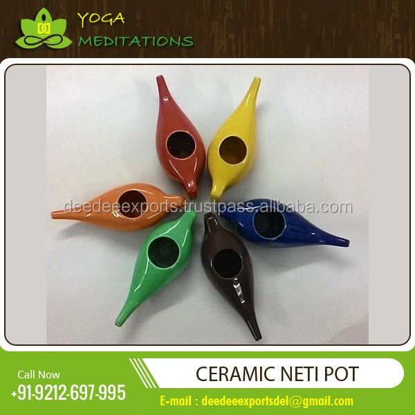 Modern Design Premium Quality Yoga Neti Pot Available in Various Size and Shapes