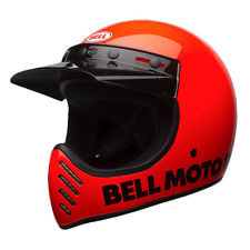 2017 Bell Cruiser Moto 3 Retro Full Face Motorcycle Helmet Classic