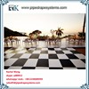 outdoor pvc plastic dance floor for wedding event Decoration system for sale