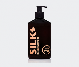 SHAMPOO (SALT FREE) enriched with keratin and vitamins E+B5,this unique formula was especially developed for harsh climates