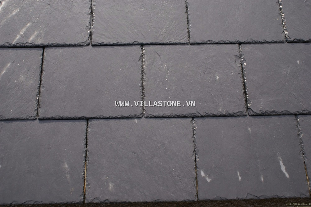 Vietnam Natural Black Roofing Slate Stone Cleft