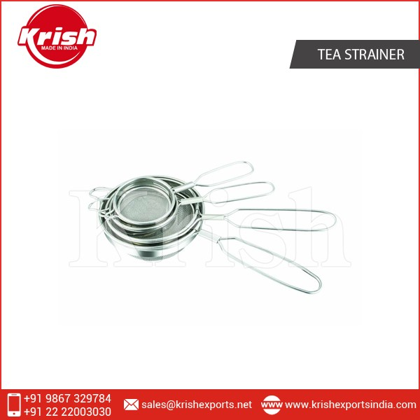 Superior Range of Wire Handle Tea Strainer at Cheap Price
