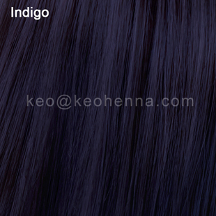 Indigo Hair Colors, Made by indigofera tinctoria leaves