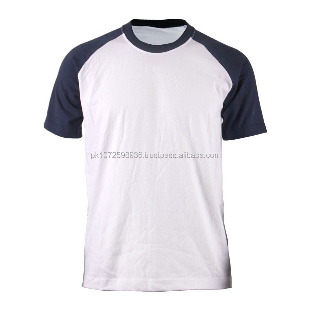 custom extreme muscle fit t shirt/raglan sleeve t-shirt/ gym t shirt in white factory direct