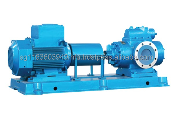Relieable triple Screw Pump for replacing Kral, Azcue, IMO, Allweiler Screw Pump.
