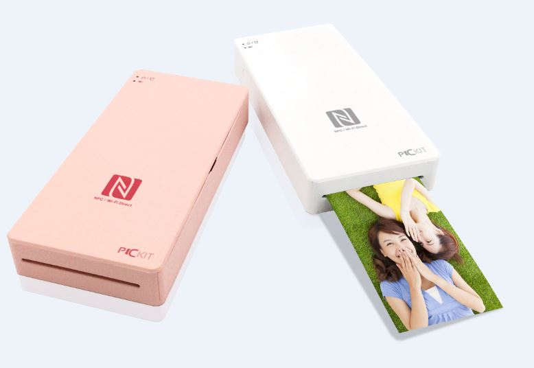 Mobile Photo Printer [PICKIT] M1 - Wireless, Portable, Mini Size Printer