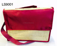 Eco Friendly jute Messenger Bag