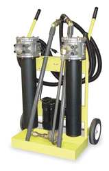 Oil Filter Cart 500 SUS Max Viscosity
