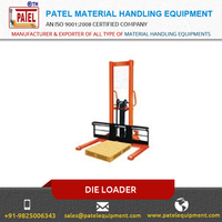 Leading Manufacturer of Die Loaders (Scissor Lift Trolley) with Capacity of 500 kgs to 2 ton