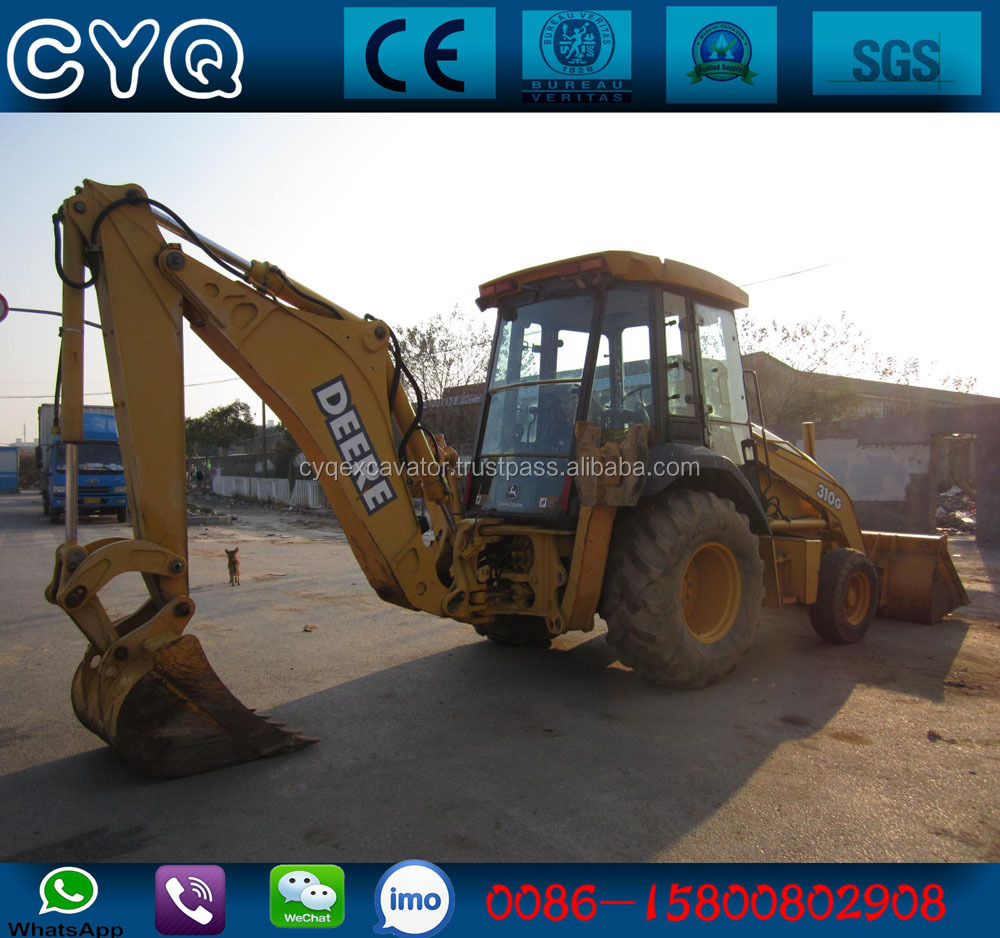 Used John Deere 310G backhoe loader for sale (whatsapp: 0086-15800802908)