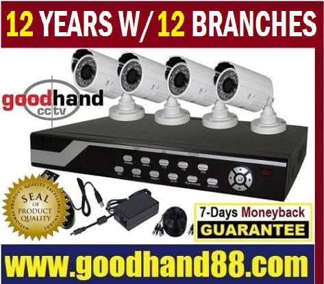 CCTV Package Indoor/Outdoor 4 Channel,8,16,24,32