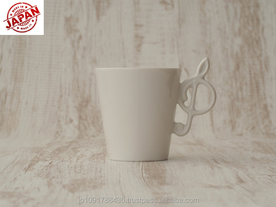 High Quality Customized Ceramic Coffee/Tea Cup Made in Japan