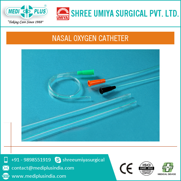 Disposable and Sterile Nasal Oxygen Catheter