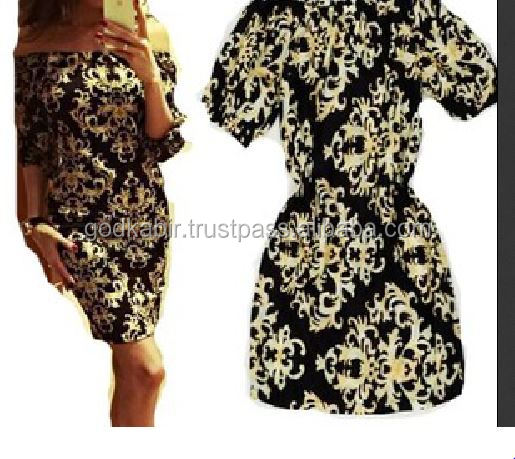 Vintage india half sleeve casual retro print dress african good party dress stylist for women plus size dress cheap