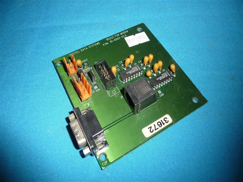 Postec Data Systems 81-0003 V2.0 65-0002 V2.0 RS232 For Modem