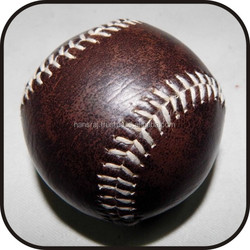 Real leather Brown Baseball