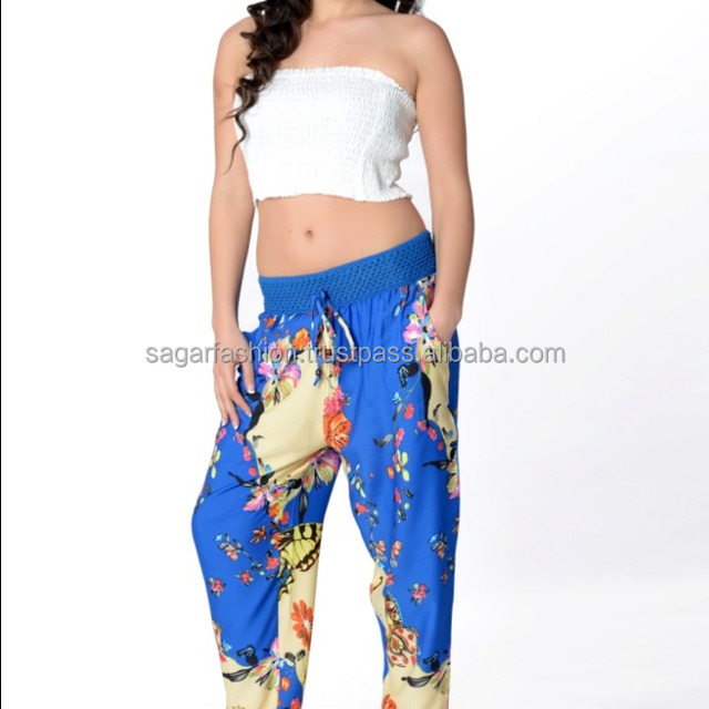 INDIAN ALIBABA HAREM YOGA MEN WOMEN TROUSERS LATEST DESIGN VINTAGE STYLE UNIQUE PATTERN PANTS