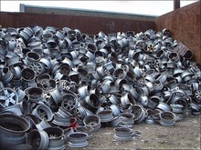 Aluminum alloy wheel scrap for sale