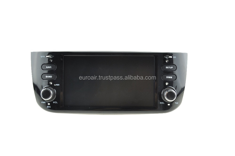 8'' capacitive screen Android 5.1.1 Quad core car dvd GPS navigation player for FIAT new punto with radio WIFI