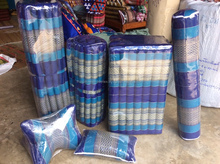Dobbytex Thai Handmade pillow Blue traditional Take a rest sets (6 pieces)