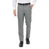 ZIDO MEN'S SLIM FIT GREY POLYSTER VISCOSE FORMAL TROUSER