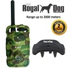 2000 meters Royal Dog D2000 Rechargeable Pet Dog Training Remote Electric static Collar