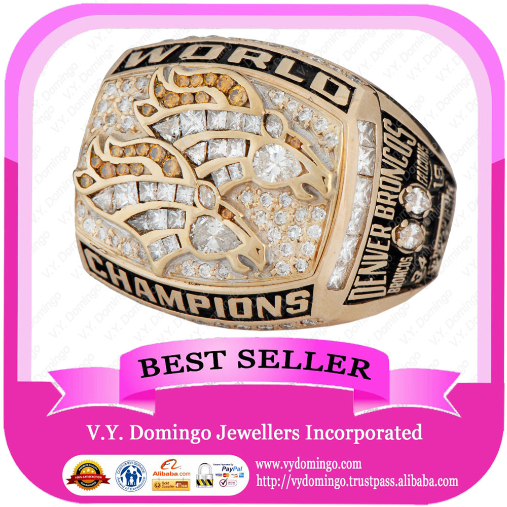 1998 DENVER BRONCOS WORLD CHAMPIONSHIP RING