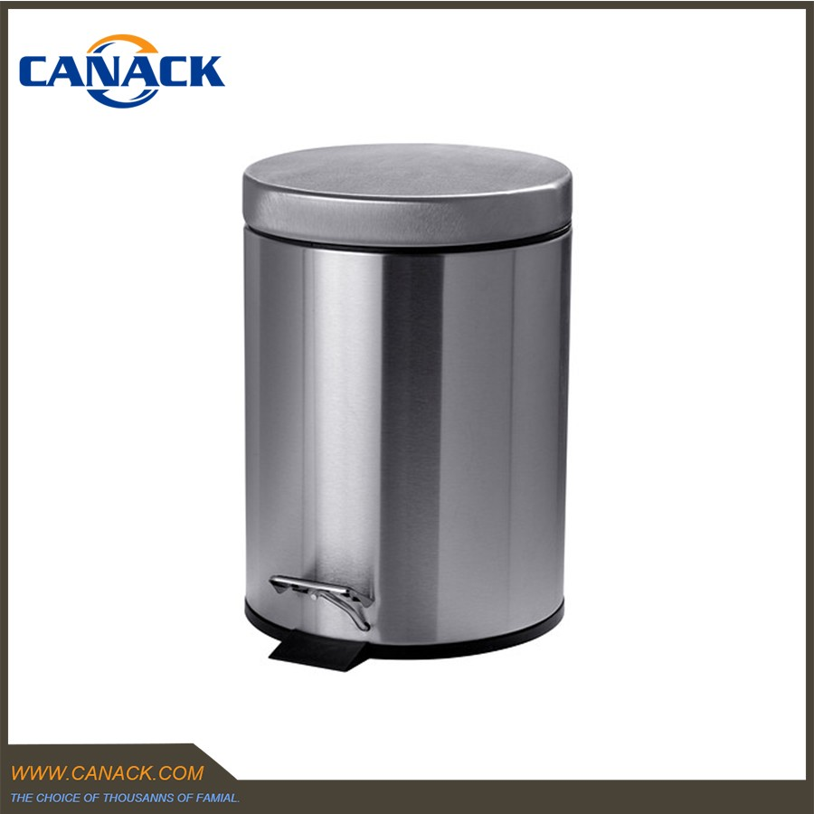 Stainless Steel Foot Pedal Garbage Waste Bin