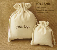 Custom Printed Cotton Jewelry Pouches