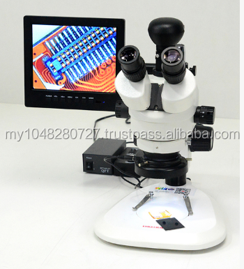 Stereomicroscope / true trinocular / binocular / second speed machine / mobile phone repair / watch / jewelry / continuous zoom