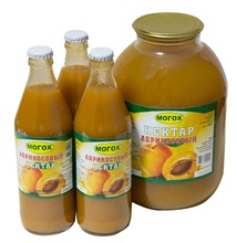 100 % Natural apricot nectar juice