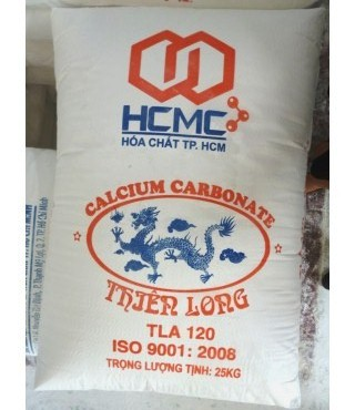 Vietnam Calcium carbonate powder for plastic, paint, taical, masterbatch, cable, rubber and rubble industry.