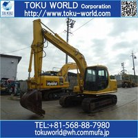 Used KOMATSU Excavator PC120-6E 0.5m3 Special piping Long arm Japan<SOLD OUT>