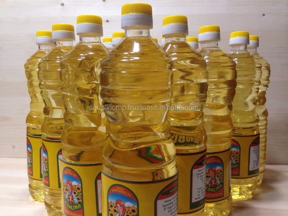The Best Natural Refined Sunflower Cooking Oil in Russia