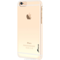Slim Fit Median Hard PC Polycarbonate cover case for scratch resistance for iPhone 6 6s Plus 5.5 inch roocase (clear)