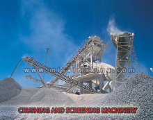 150 - 200 TON/HR STONE CRUSHING AND SCREENING MACHINERY